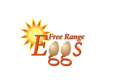 Brand design for Free Range Eggs Co.