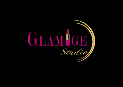 Logo design for Glamish studio