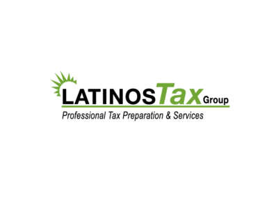 Latinos Tax Group Logo design