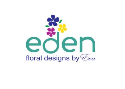 Logo Eden floral design