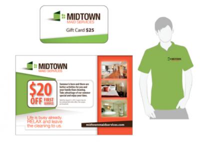 MidtownMaid-Services Branding
