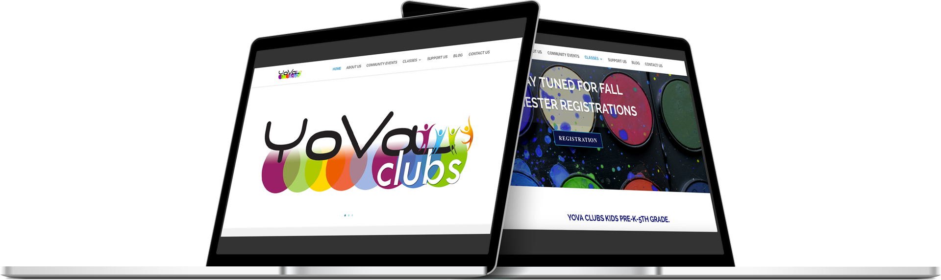 Responsive website development for YOVA Kansas